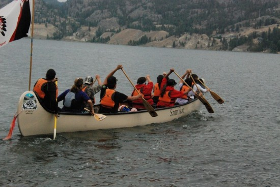 Okanagan Nation Alliance Salmon Feast 2015