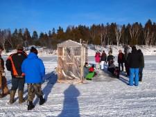 Apprendre à pêcher de l'éperlan avec Slow Food Cocagne Acadie