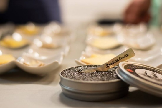 Caviar at Barolo Moncton