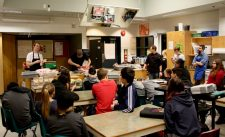 Wild Mountain Explores Pig Butchery at Edward Milne Secondary